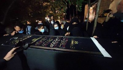 پیکر علامه حسنزاده آملی در زادگاهش آرام گرفت