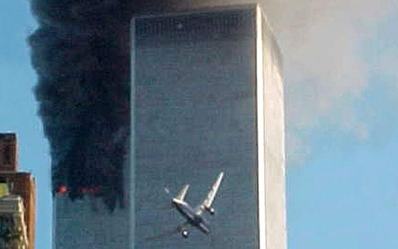عکسهایی از حادثه ۱۱ سپتامبر که کمتر دیدهاید/تصاویر