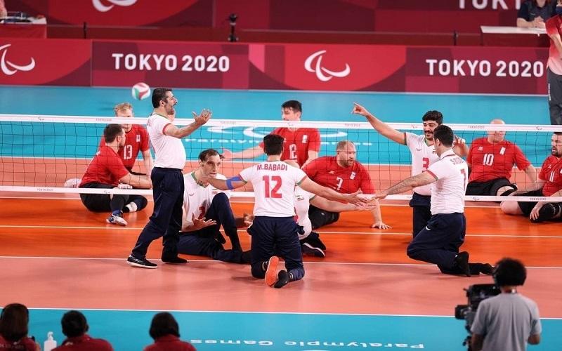 کسب مدال طلای پارالمپیک تیم ملی والیبال نشسته ایران