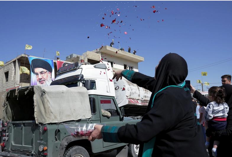 لبنان؛ شادمانی از ورود کامیونهای حامل گازوئیل ایران/ عکس