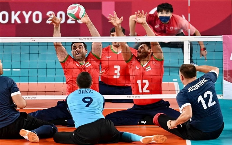 تیم ملی والیبال نشسته ایران به فینال راه یافت