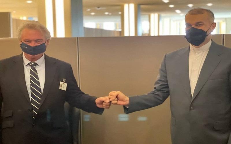 دیدار امیرعبداللهیان با وزیر امور خارجه لوکزامبورگ