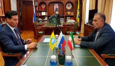 رئیس جمهوری کالمیکیای روسیه خواستار توسعه همکاری اقتصادی با ایران شد