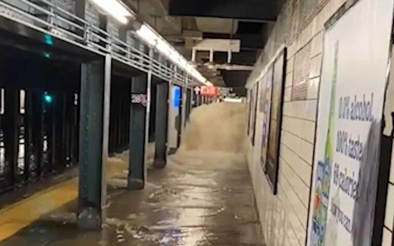 طوفان آیدا در نیویورک
