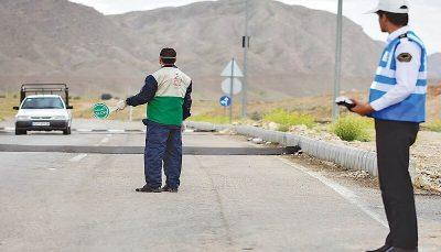 ۱۱۰ هزار خودرو در جادههای مازندران جریمه کرونایی شدند
