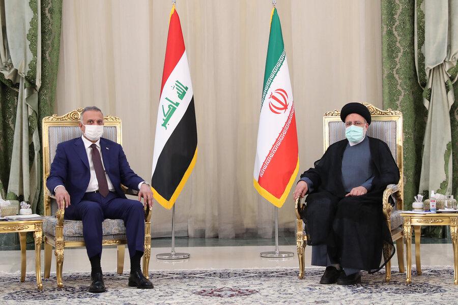 استقبال رسمیرئیسی از نخستوزیر عراق/ عکس