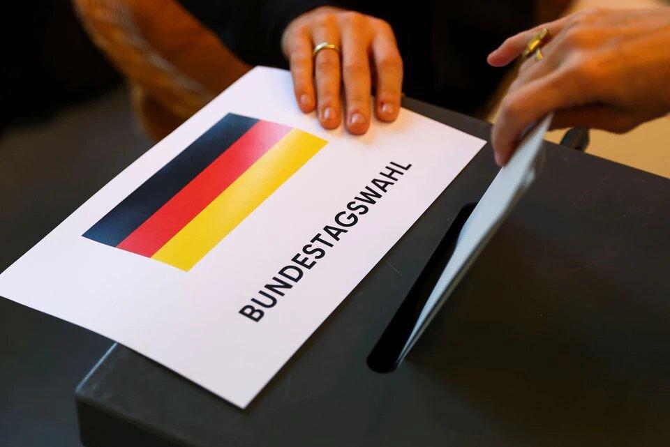 تصاویری از انتخابات آلمان