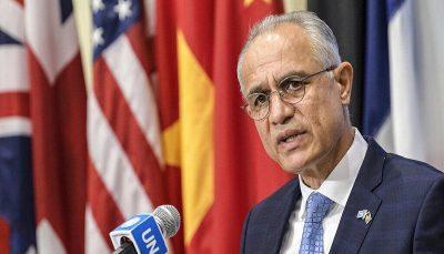 انصراف سفیر افغانستان از سخنرانی در سازمان ملل