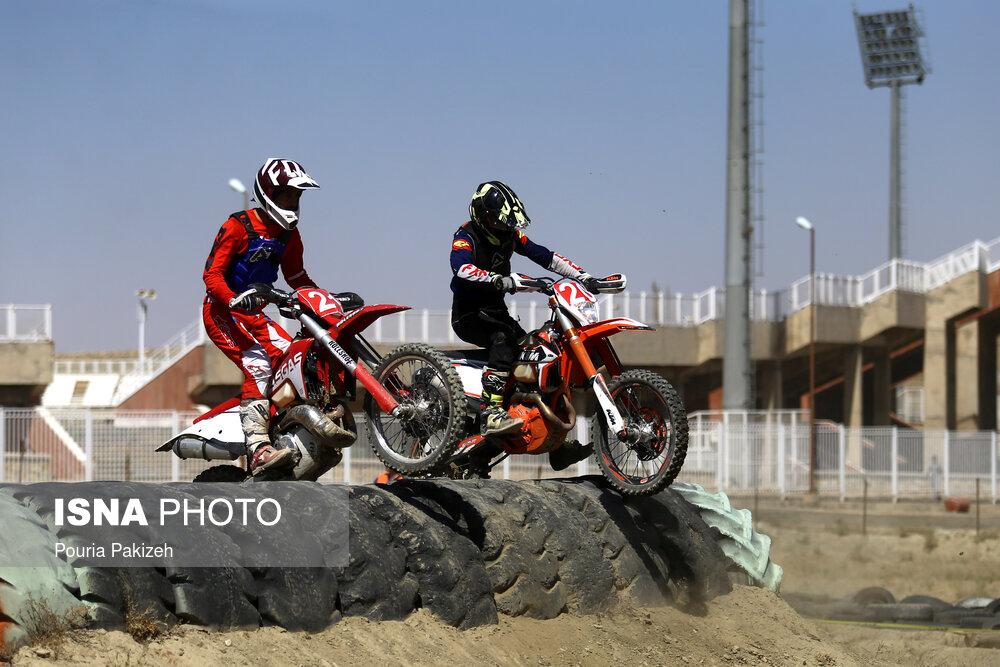مسابقات انتخابی تیم ملی موتورسواری اندرو - همدان