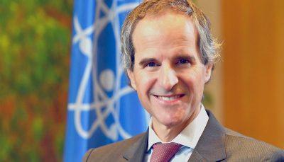 گروسی با رئیس سازمان انرژی اتمی در تهران دیدار کرد
