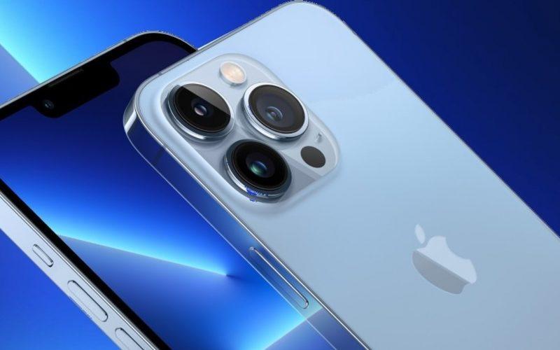 اپل در آیفون 13 پرو مکس از حسگر دوربین سونی بهره گرفت