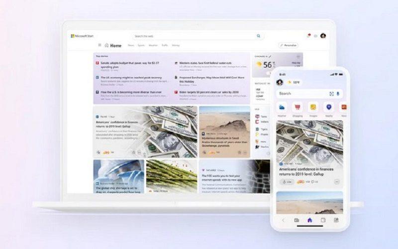 مایکروسافت سرویس Microsoft Start را معرفی کرد