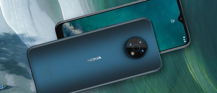 نوکیا G50 5G با دوربین 48 مگاپیکسلی و پردازنده اسنپدراگون 480 رونمایی شد