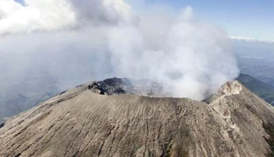 استخراج بیتکوین با انرژی آتشفشان