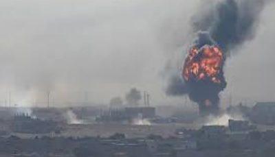 انفجار مهیب، انبار مهمات کردهای سوریه را نابود کرد