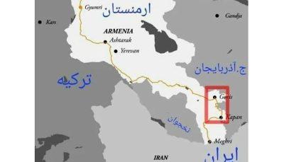 ایران راه ارمنستان از آذربایجان را جدا میکند