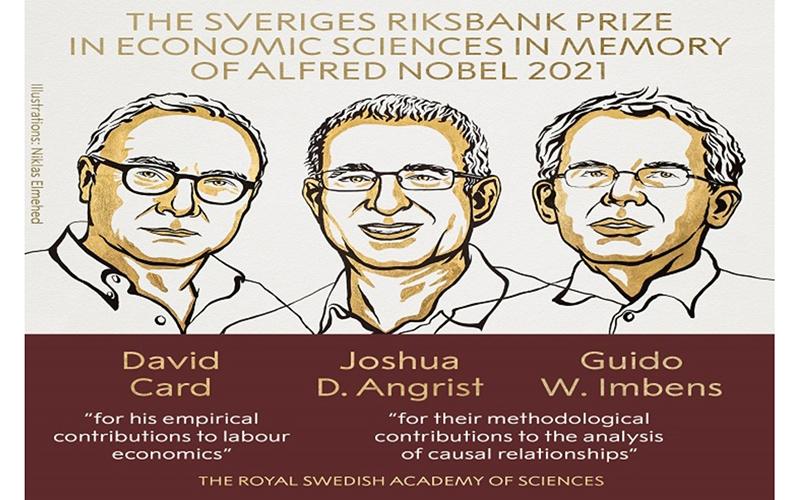 برندگان جایزه نوبل اقتصاد ۲۰۲۱ معرفی شدند
