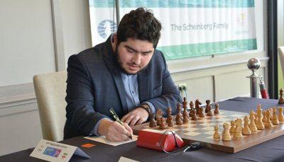تساوی مرد شماره یک شطرنج ایران در دور چهام لیگ برتر شطرنج اسپانیا