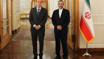 توافق «باقری» و «مورا» برای شروع مذاکرات ظرف یک ماه آینده