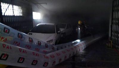 حریق مرکز درمانی در خیابان توانیر