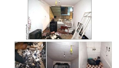 خودکشی قاتل با انفجار خانه
