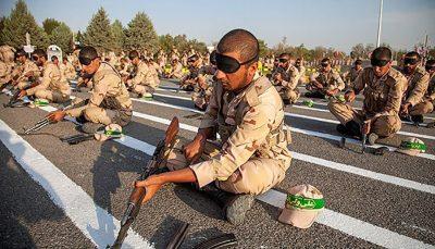 دوره آموزش رزم مقدماتی سربازان۶ هفته شد
