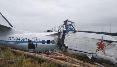 سقوط هواپیما در روسیه؛ دستکم 19 چترباز کشته شدند