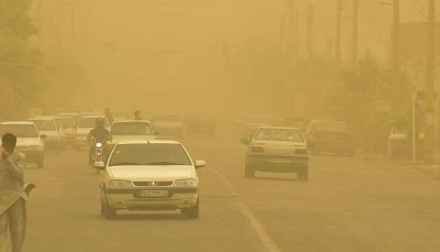 طوفان ۱۲۲ نفر را در منطقه سیستان روانه بیمارستان کرد