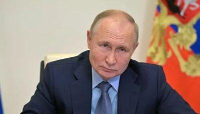 فرمان پوتین در تعطیلی یک هفتهای روسیه
