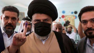 مقتدی صدر: نتایج انتخابات را قبول دارم
