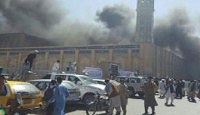 وقوع انفجار مهیب در مراسم نماز جمعه در شمال افغانستان، 50 شهید و 90 زخمی