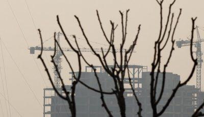 کاهش کیفیت هوای تهران در پی خیزش گرد و خاک
