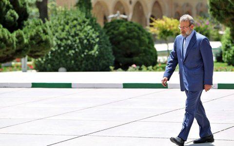 کناره گیری لاریجانی از مذاکرات ایران و چین تایید شد