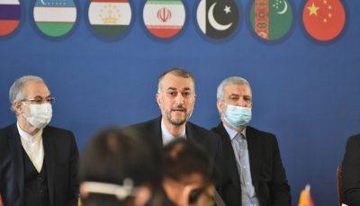 سفیر ایران با با سرپرست هیات حاکمه سرپرستی افغانستان دیدار کرد