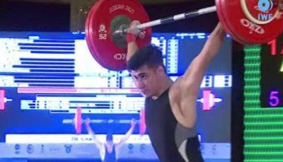 اولین مدال طلای وزنهبرداری ایران در مسابقات نوجوانان جهان ۲۰۲۱