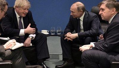 تبادل نظر پوتین و جانسون پیرامون توافق هسته ای ایران