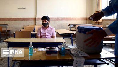 پایگاههای واکسیناسیون دانشآموزی در تمام شهرها شکل گرفت
