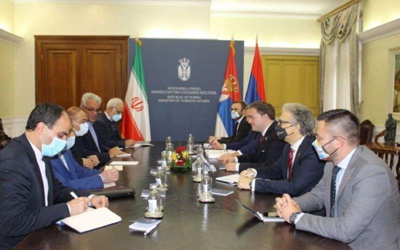 ایران نگاه راهبردی به روابط دوجانبه با صربستان دارد