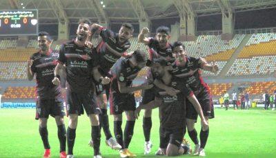 پیروزی پرسپولیس مقابل فولاد خوزستان