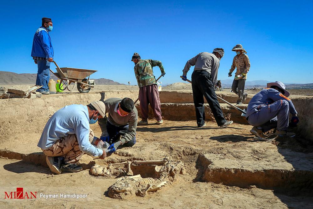 """کاوشهای باستان شناسی در تپه """"ریوی """" - خراسان شمالی"""