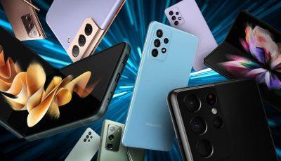 سامسونگ بزرگترین فروشنده گوشی هوشمند در فصل تابستان 2021 شد