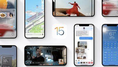 قابلیت دانگرید از iOS 15.0.1 به iOS 15 ممکن نیست