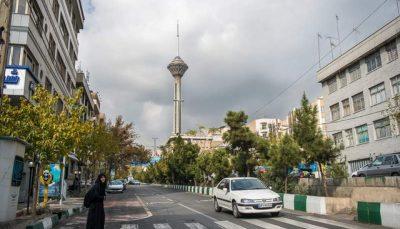 دمای تهران تا 10 درجه کاهش می یابد
