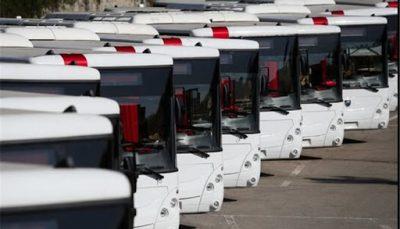 ۱۱۰ دستگاه اتوبوس جدید به ناوگان حمل و نقل عمومی تهران اضافه می شود